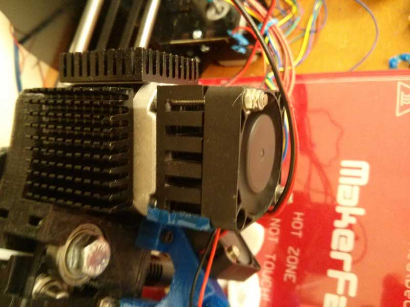 adding a heatsink and fan to your 3d printers nema 17